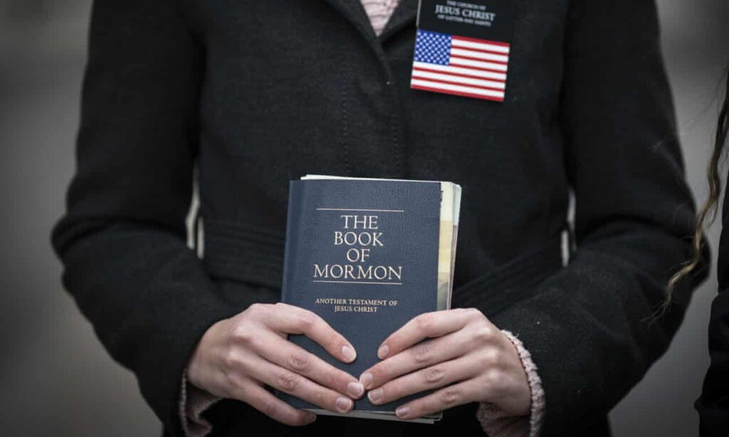 A Mormon missionary in Salt Lake City