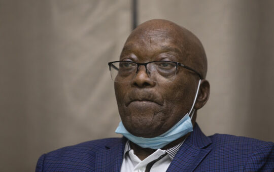 Former president Jacob Zuma is in an undisclosed hospital and is too ill to attend court