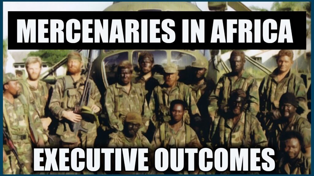 A complex History of Executive Outcomes a South African mercenary organisation